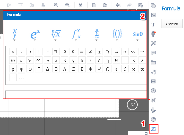 how to add superscript