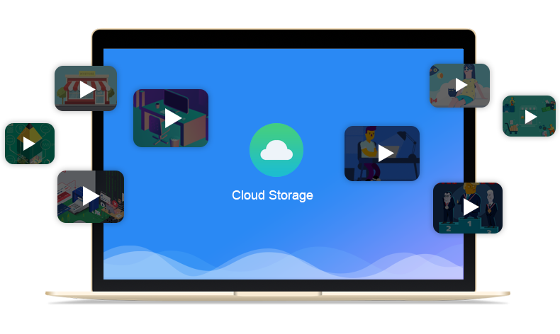 publish videos to cloud